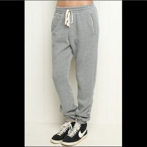 light gray rosa sweatpants